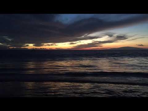 Maui sunset, Kihei, Hawaii 10/22/2017