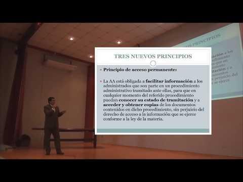 Últimos cambios en la Ley del procedimiento administrativo general - Miguel Jiménez-Torres (HD)