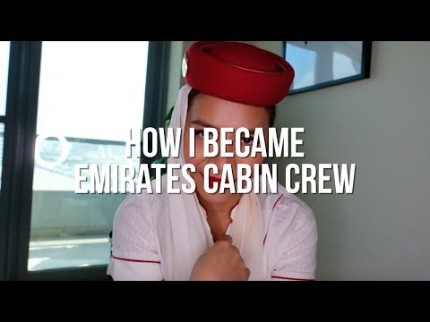 How I Became Emirates Cabin Crew || I applied twice!