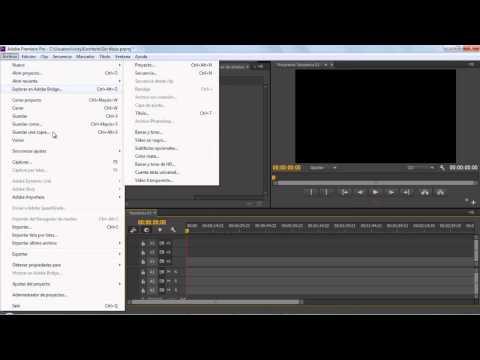 Adobe Premiere Pro CC - Problema con la Linea de Tiempo  y como renderizar.