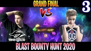 Secret vs OG Game 3 | Bo5 | Grand Final BLAST Bounty Hunt | DOTA 2 LIVE