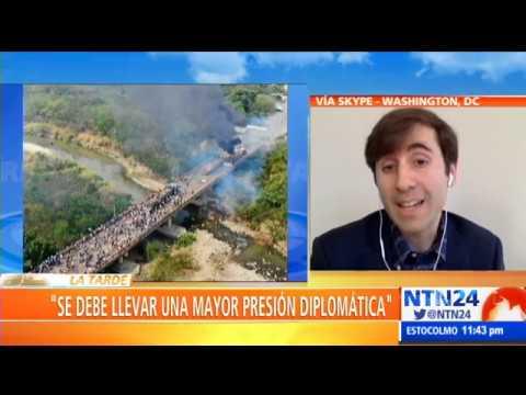 Mariano de Alba: Grupo de Lima se paró en la posición de que la fuerza no es la vía en Venezuela