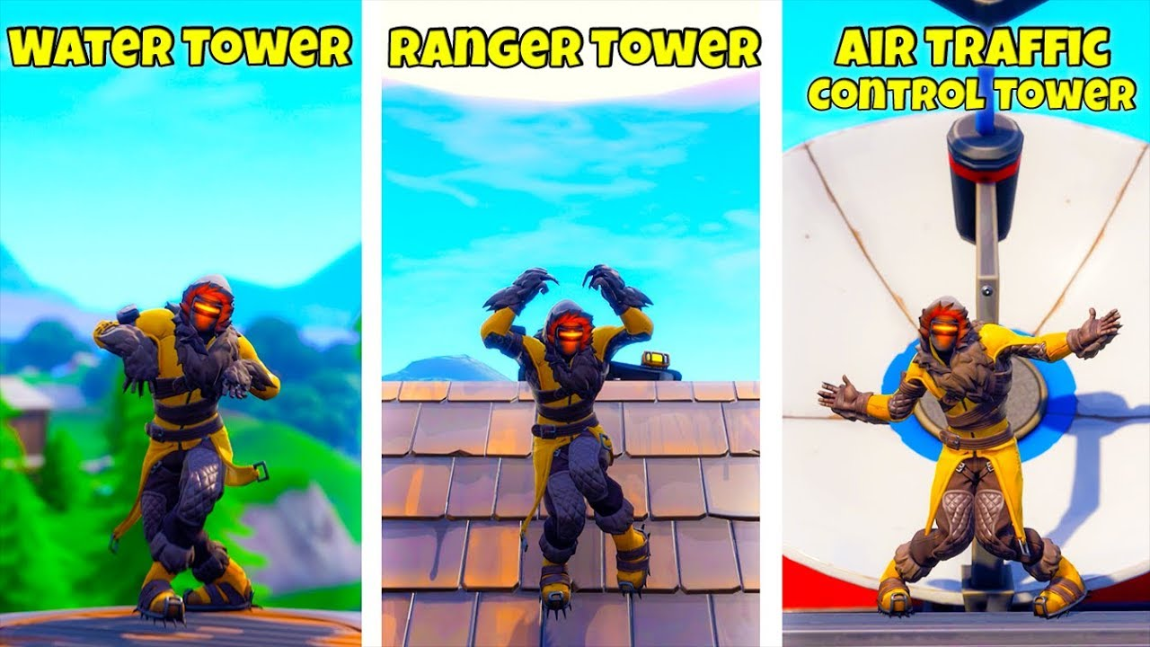"""STAGE 1-3 Dance On Top Of A """"WATER TOWER, RANGER TOWER"""