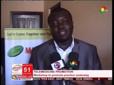 Introducing telemedicine in Ghana healthcare - 16/10/2016