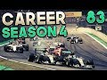 F1 2016 Career Mode Part 83: BEST 100% RACE OF THE YEAR?