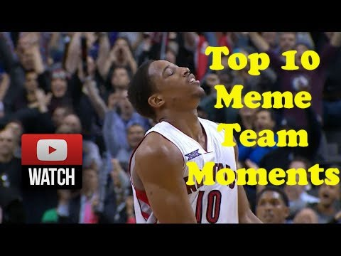 NBA all star 2015 | Top 10 Meme Team Moments in NBA All ...