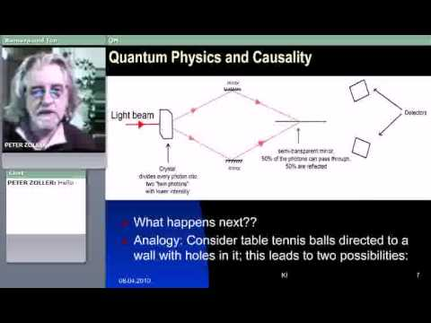 Quantum Physics and Causality Part 1/2 (Prof. Dr. Peter Zoeller-Greer)