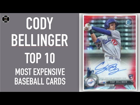 Cody Bellinger Top 10 Most Expensive Baseball Cards Sold On