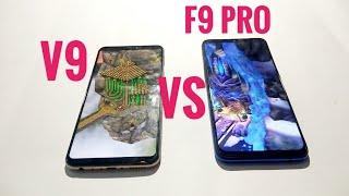 F9 PRO VS V9 |SPEED TEST |GAMING TEST