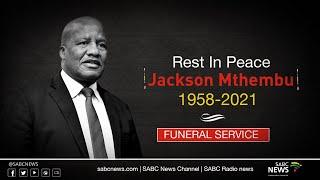 Minister Jackson Mthembu funeral service