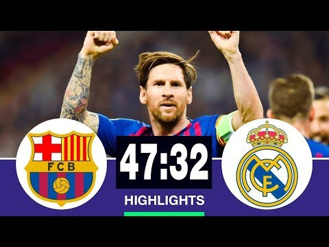 🔥 Барселона - Реал Мадрид 47-32 - Обзор Матча Чемпионата Испании 2007/2019 HD 🔥