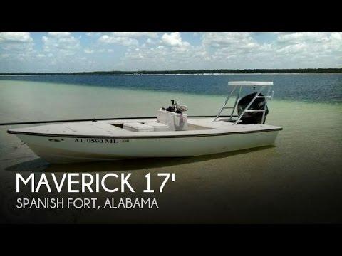 [UNAVAILABLE] Used 2002 Maverick Master Angler 17 In Spanish Fort, Alabama