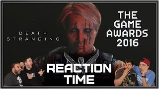 Death Stranding - The Game Awards Trailer - Reaction Time!