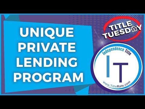 Unique Private Lending Program for Florida Real Estate