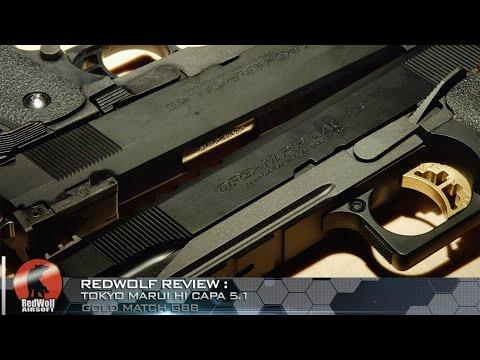 Best Marui Pistol Ever?: Tokyo Marui Hi Capa 5.1 Gold Match GBB (4K HD) - RedWolf Airsoft RWTV