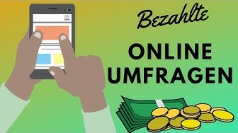 ONLINE GELD VERDIENEN MIT UMFRAGEN - Der ultimative Webseiten Check für bezahlte Umfragen (Top 5)