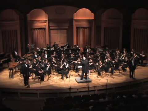 Blossoms Down performed by Reinhardt University Wind Ensemble