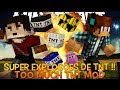 Super Explosões !! 35 Novas Tnt's Minecraft - Too Much TNT Mod
