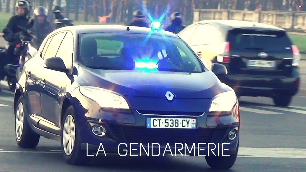 la gendarmerie voiture banalis e unmarked police car responding youtube. Black Bedroom Furniture Sets. Home Design Ideas
