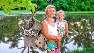 Бали 2019. Убуд, виллы, рисовые поля, еда, цены. С детьми на Бали.