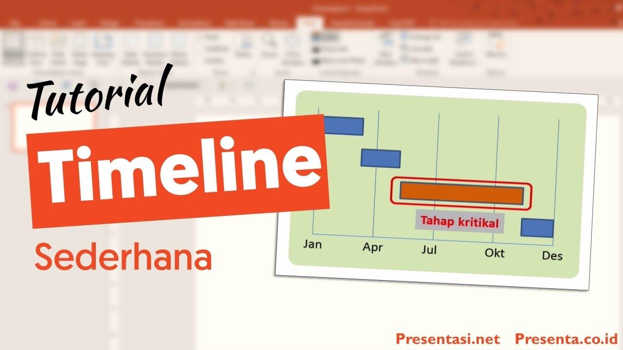 22+ Cara Membuat Timeline Project paling mudah