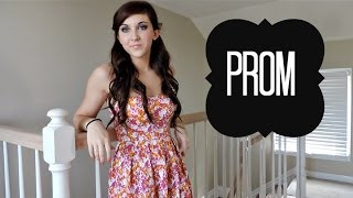 Prom Tutorial | Hair and Makeup Thumbnail