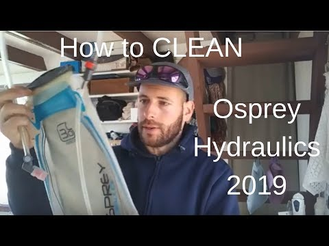 How to clean- Osprey Hydraulics 2019