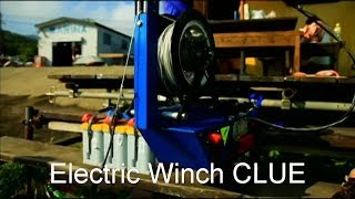 Electric Wake Skate Wake board Winch CLUE CM