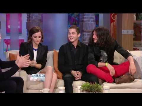 Logan Lerman on 'Anderson Live': Part 1
