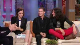 Logan Lerman on 'Anderson Live': Part 1