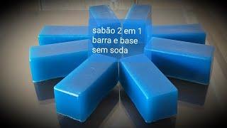 Faça Sabão 2 em 1 Barra e Base sem Soda Duro – Igual do Mercado