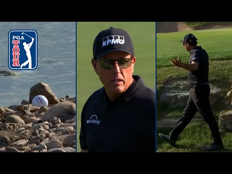 Phil Mickelson hangs 10, ties second highest TOUR score at Valero