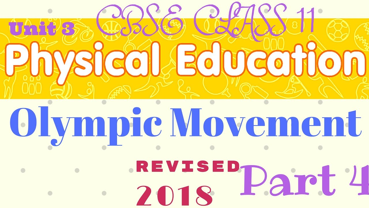 Olympic movement class 11 physical education part 4 youtube olympic movement class 11 physical education part 4 malvernweather Gallery