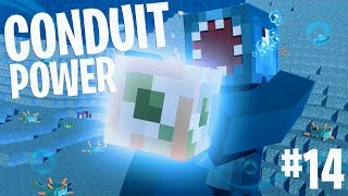 CONDUIT POWER!! - Minecraft Aquatic Adventure! #14