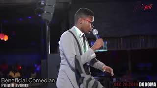 Hiki ndo kipaji cha Mr Beneficial kwenye Stand up comedy