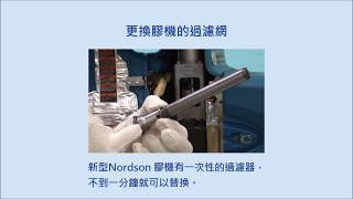 Nordson 熱熔膠設備膠管管路阻塞 解決方案