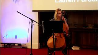 Lauren Purcell cello talent show 3 18 18