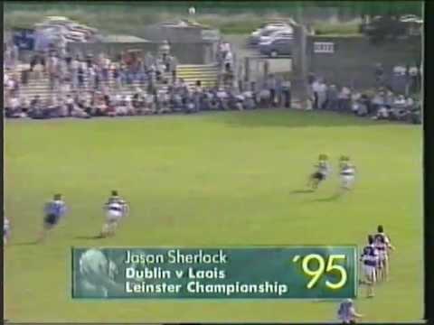 Bootless Jason Sherlock Goal v Laois 1995 Leinster SFC