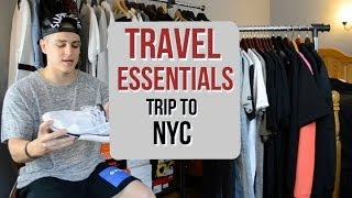 Travel Essentials: What I Packed for New York! Thumbnail