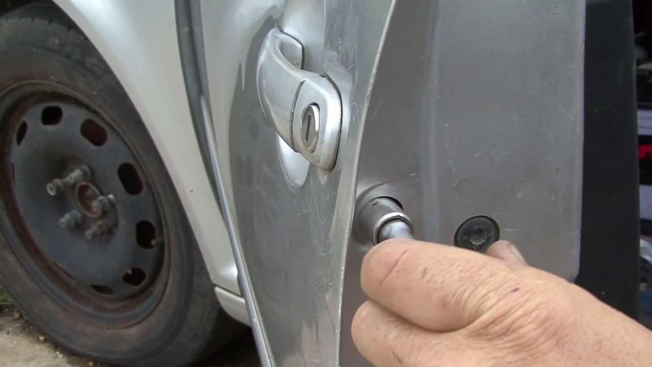 How To Change Your Door Lock In The Jetta Youtube