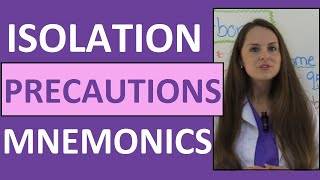 Isolation Precautions Nursing Mnemonics NCLEX   Contact, Droplet, Airborne Precautions PPE