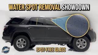 GLASS SPOT REMOVAL: What Works Best? | How To Remove Hard Water Spots From Glass