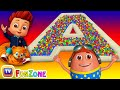 The ABC Song | Ball Pit Fun Show for Kids to Learn ALPHABETS | ChuChu TV Funzone 3D for Children