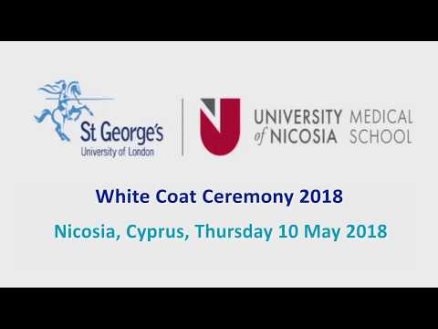 University of Nicosia Medical School - White Coat Ceremony 2018 - Highlights