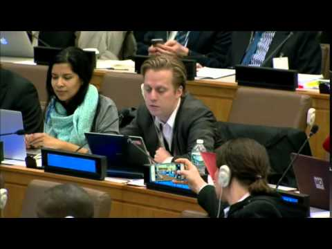 Mr. Matti Tapani Kohonen - Christian Aid - April UN Post-2015 negotiations