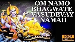 Om Namo Bhagwate Vasudevay Namah || Popular Divine Mantra || 108 Times Jaap