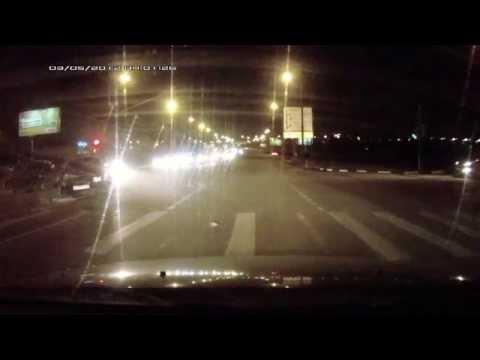 Авария перекресток (ул. Привольная - Лермонтовский проспект)