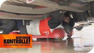 Schraube im Reifen: Kann der LKW so weiterfahren? | Teil 2 | Achtung Kontrolle | kabel eins