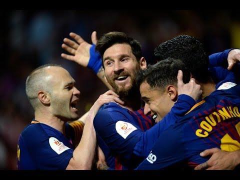 برشلونة على بعد نقطة من اللقب