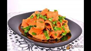 Острая закуска из моркови в восточном стиле